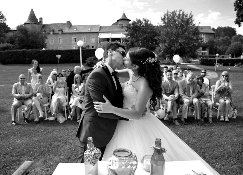 Mariage à l'Hostellerie de Fontanges, Rodez / Onet-le