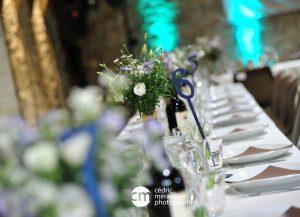 décorations de tables mariage