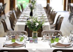 décoration champêtre pour un mariage