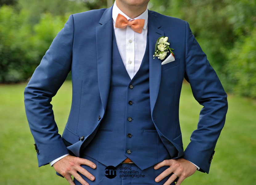 Costume de marié : pour nous les hommes !