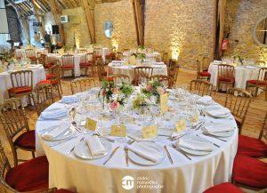 centre de table pour un mariage